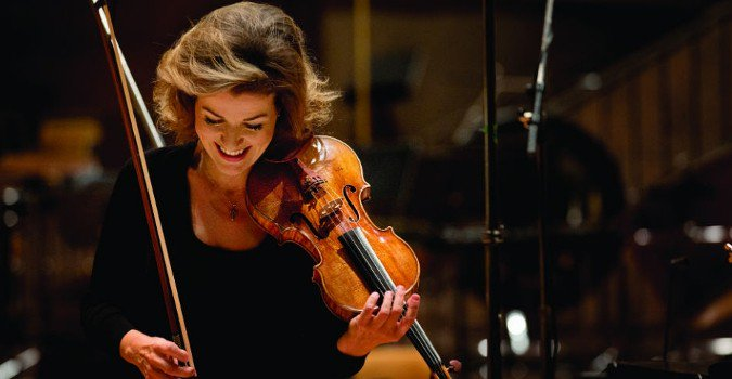 Planning de la tournée de l'artiste  Anne-Sophie Mutter