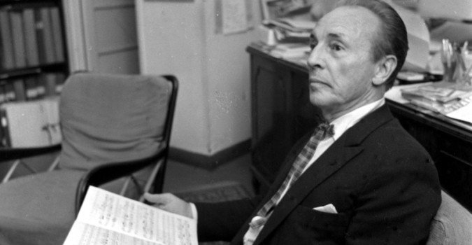Planning de la tournée de l'artiste  George Balanchine