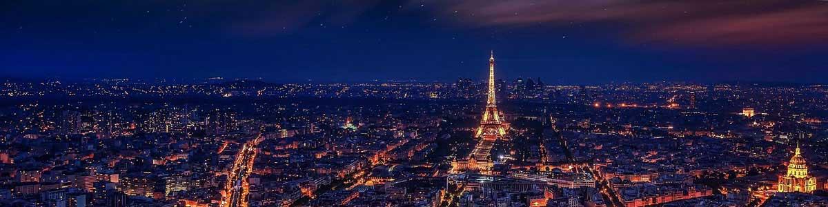 Nouvel An étincelant dans la ville lumière